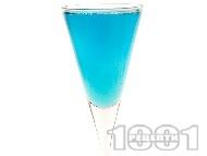 Коктейл Chanpaigne Blues с шампанско и синьо кюрасо